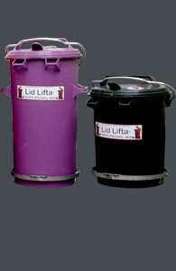 35 & 50 litre Round Bins with foot pedal ...