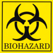 Range of stickers available: Biohazard